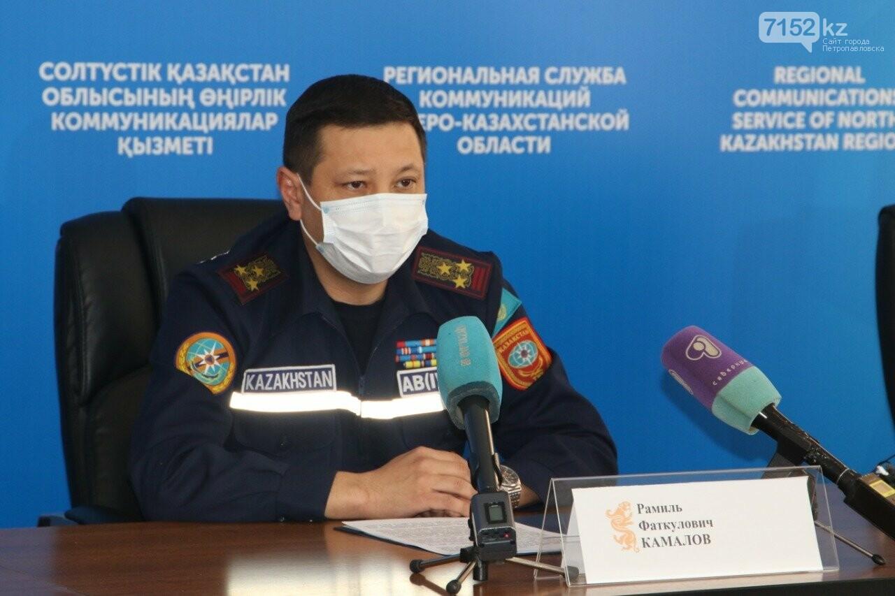 СКО занимает второе место в республике по гибели людей в пожарах, фото-1