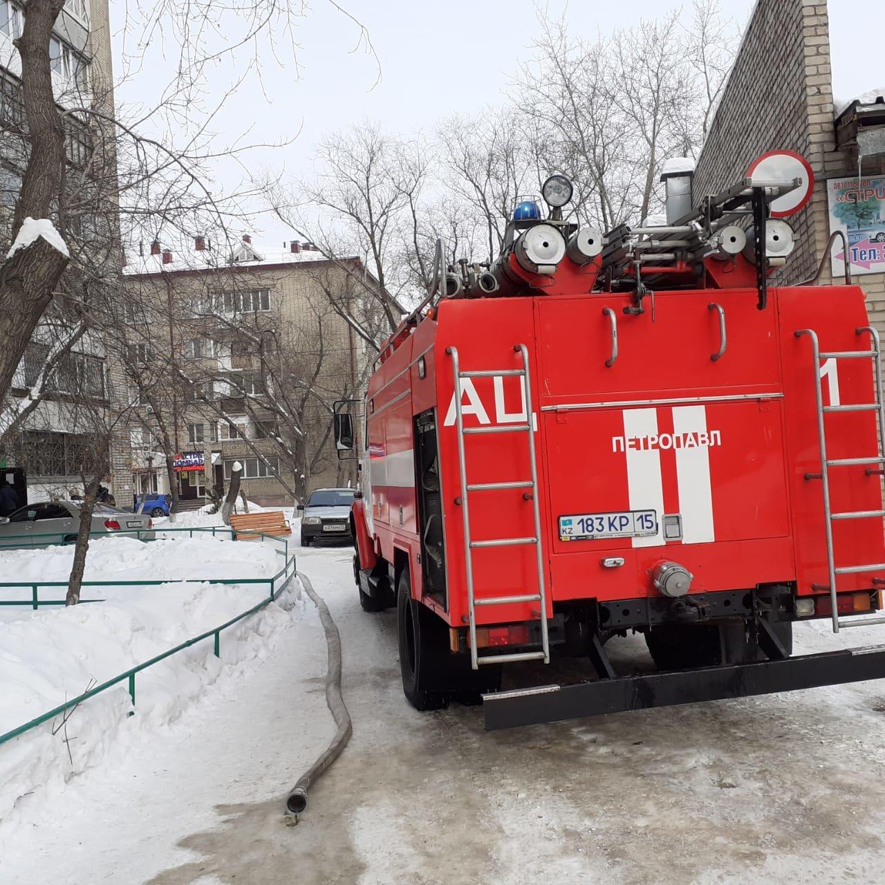 Пенсионерка погибла при пожаре в Петропавловске, фото-1