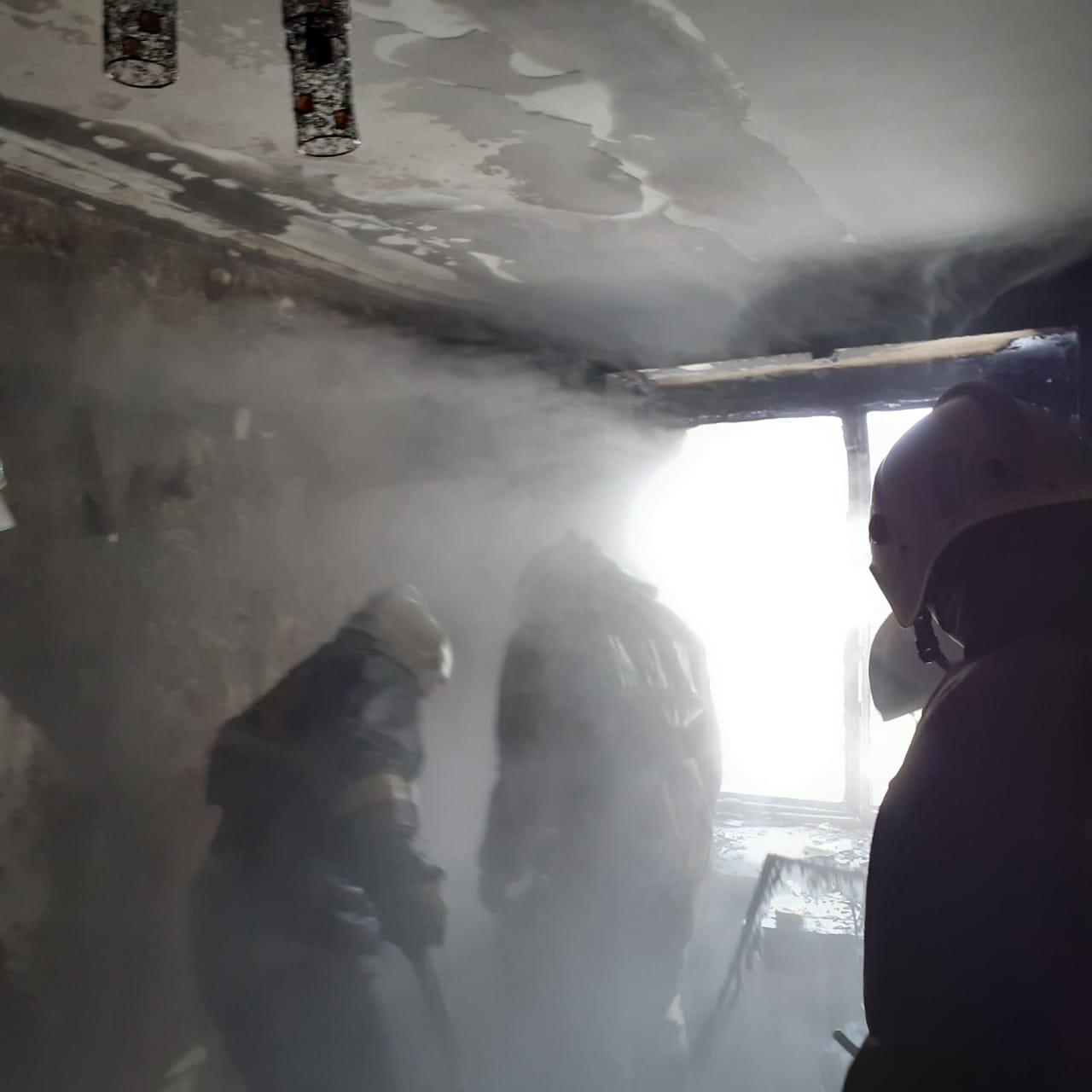 Пенсионерка погибла при пожаре в Петропавловске, фото-2