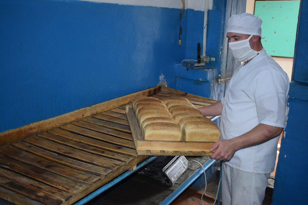 Пекарный цех в колонии СКО.2