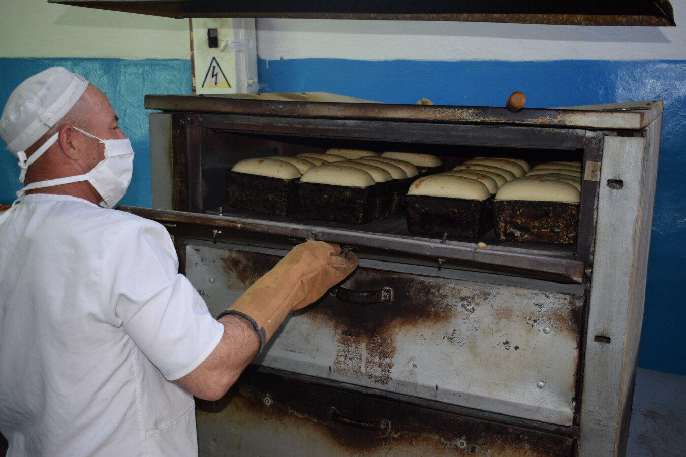 Пекарный цех в колонии СКО