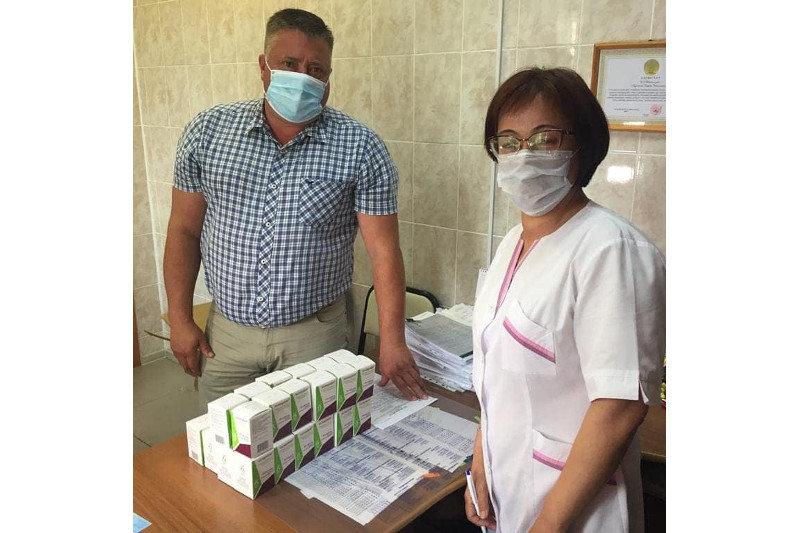 Североказахстанец закупил и передал в больницу препарат для лечения COVID-19, фото-1