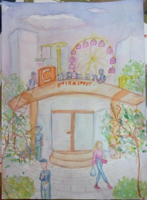 12 маленьких художников стали обладателями графических планшетов в СКО , фото-4, Жомарт Малика, 11 лет