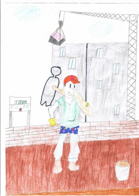 12 маленьких художников стали обладателями графических планшетов в СКО , фото-28, Жомарт Малика, 11 лет