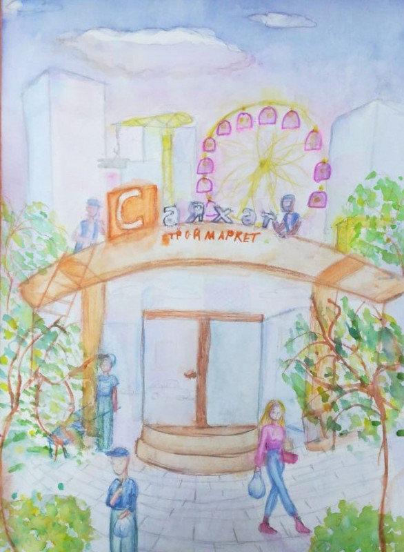 12 маленьких художников стали обладателями графических планшетов в СКО , фото-43, Жомарт Малика, 11 лет