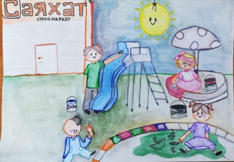 12 маленьких художников стали обладателями графических планшетов в СКО , фото-44, Жомарт Малика, 11 лет