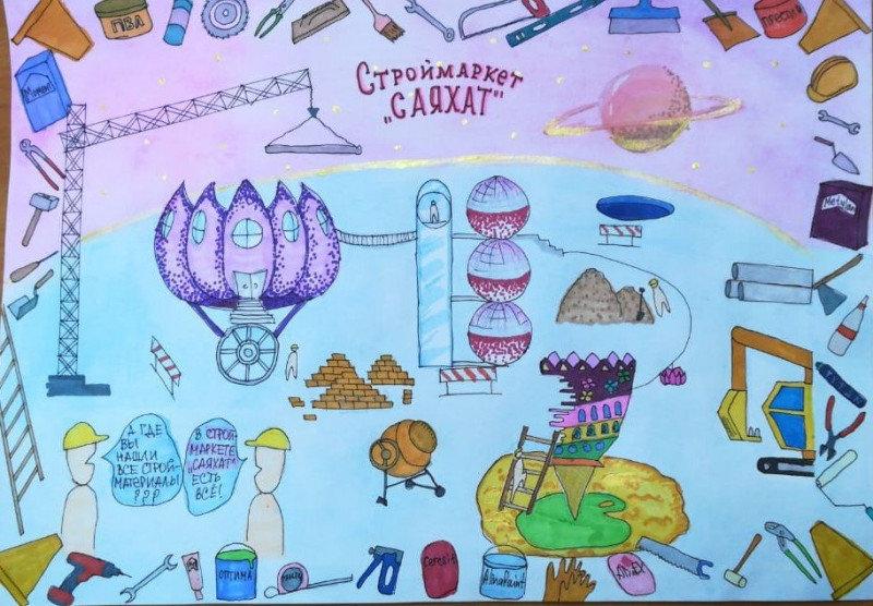 12 маленьких художников стали обладателями графических планшетов в СКО , фото-45, Жомарт Малика, 11 лет