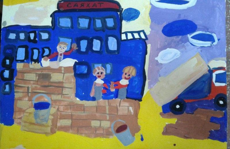 12 маленьких художников стали обладателями графических планшетов в СКО , фото-51, Жомарт Малика, 11 лет