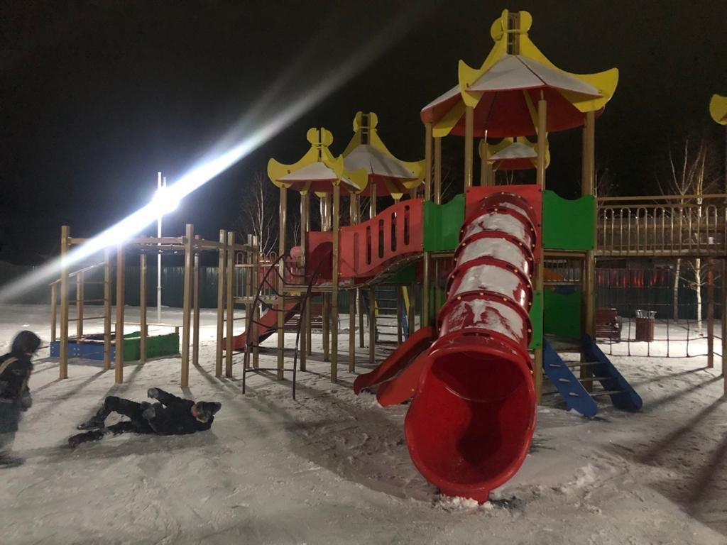 В Мамлютском районе завершают капитальный ремонт парка «Достық», фото-2