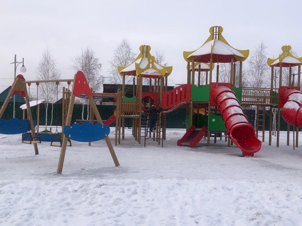 В Мамлютском районе завершают капитальный ремонт парка «Достық», фото-3