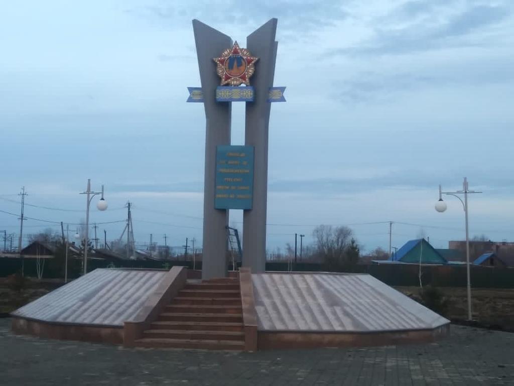 В Мамлютском районе завершают капитальный ремонт парка «Достық», фото-1