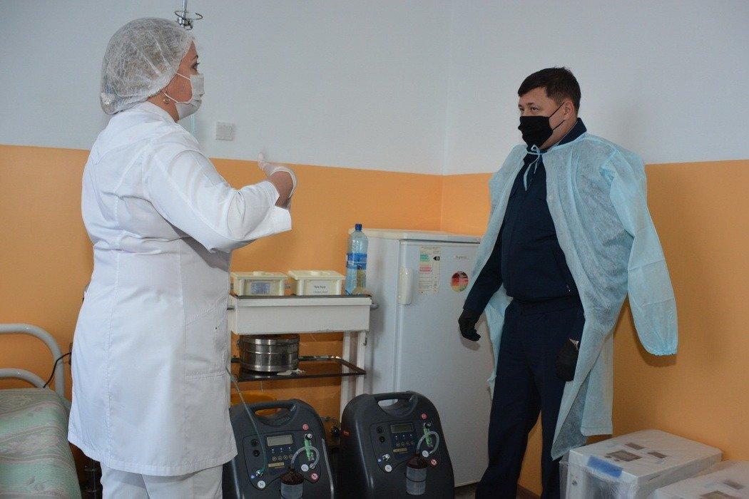 Глава полиции СКО проинспектировал медотдел ведомственной службы, фото-4, ДП СКО