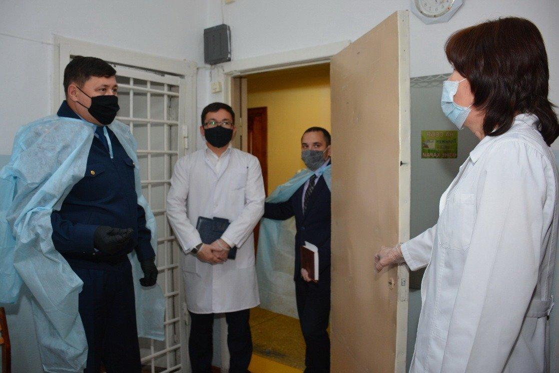 Глава полиции СКО проинспектировал медотдел ведомственной службы, фото-5, ДП СКО